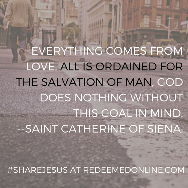 #ShareJesus everything comes from love