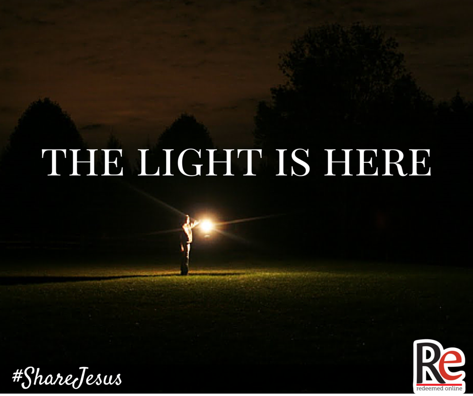 Brian Greenfield #ShareJesus A Light Shines in the Darkness
