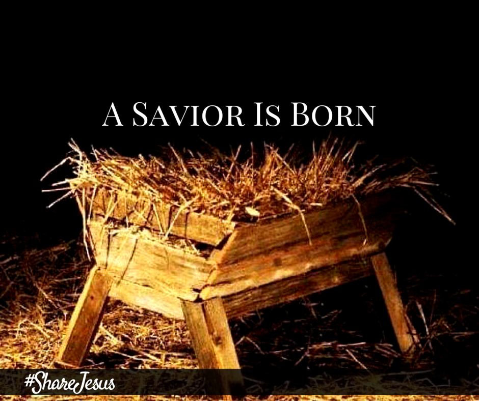 Karen Reynolds #ShareJesus A Savior Is Born