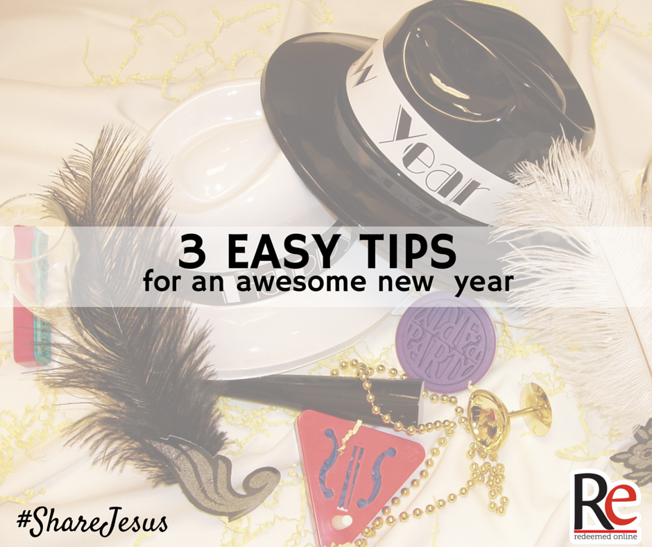 Mark Hart #ShareJesus New Years Resolutions 3 Tips for New Year LIFE TEEN