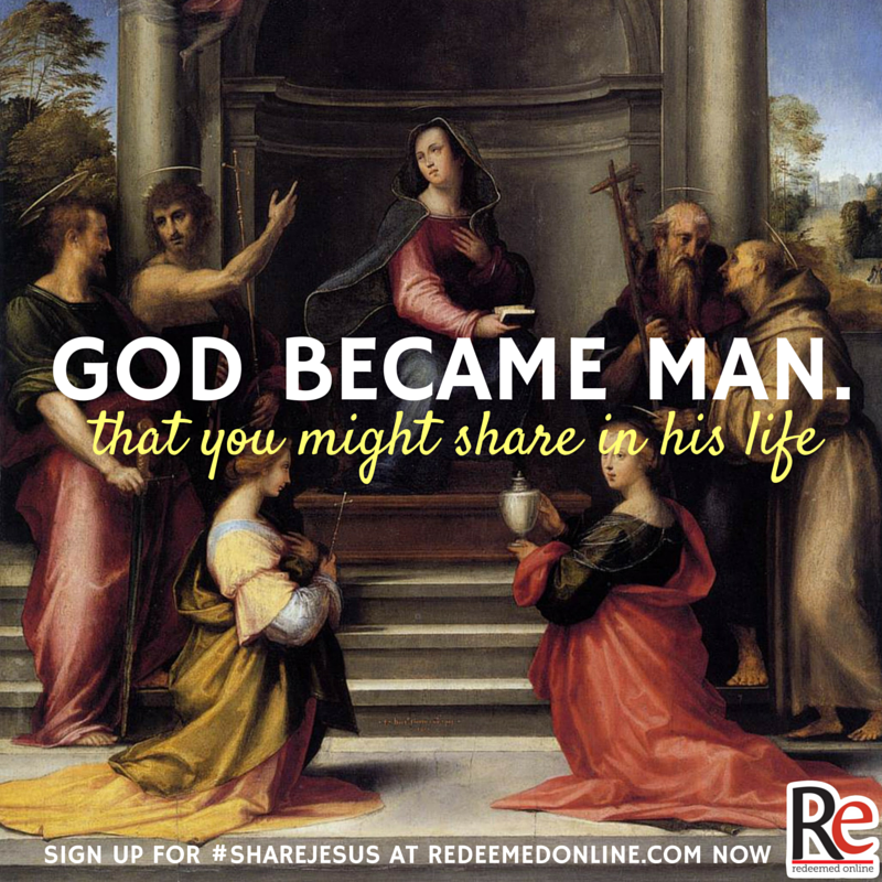 god became man #ShareJesus