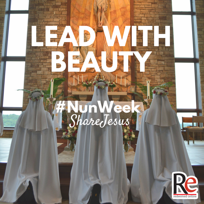 lead with the beauty #ShareJesus