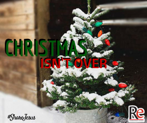 Christmas Isn't Over #ShareJesus Fr. Josh Johnson