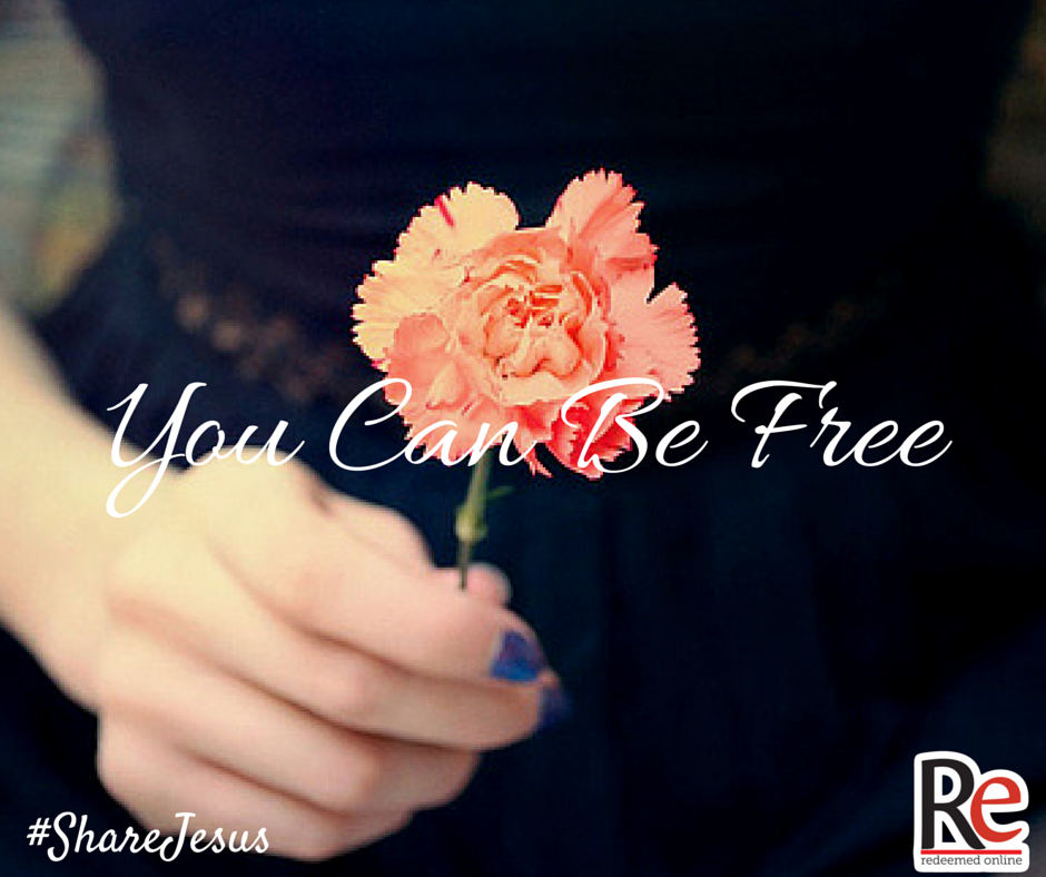 Kelly Pease #ShareJesus You Can Be Free (1)