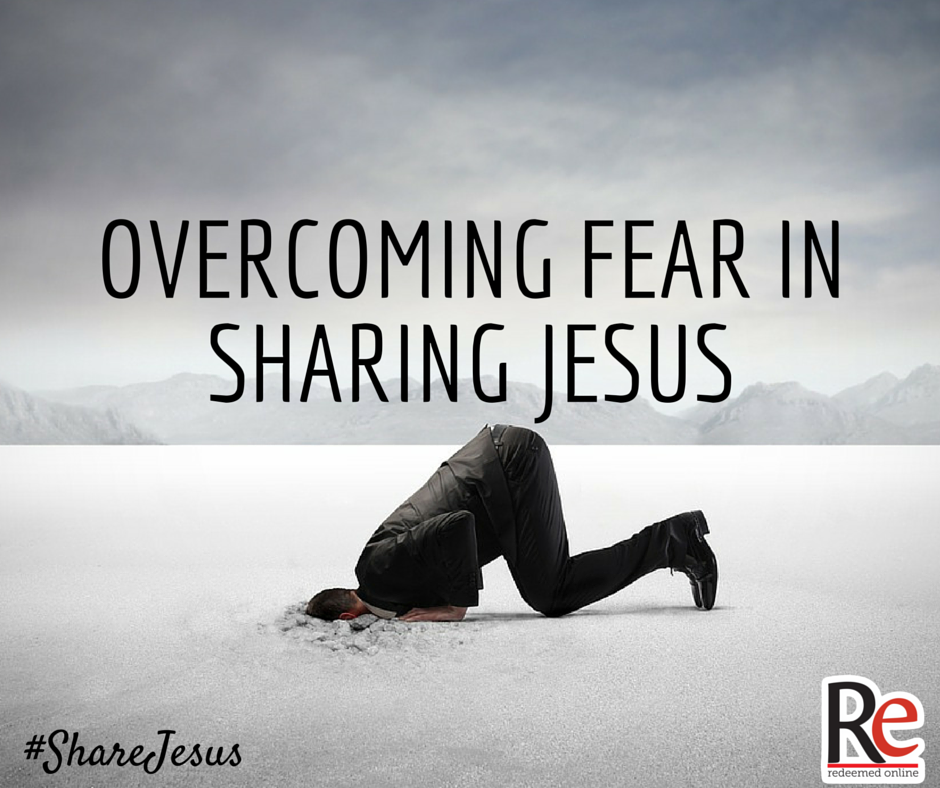 Overcoming Fear in Sharing Jesus #ShareJesus Kris Frank