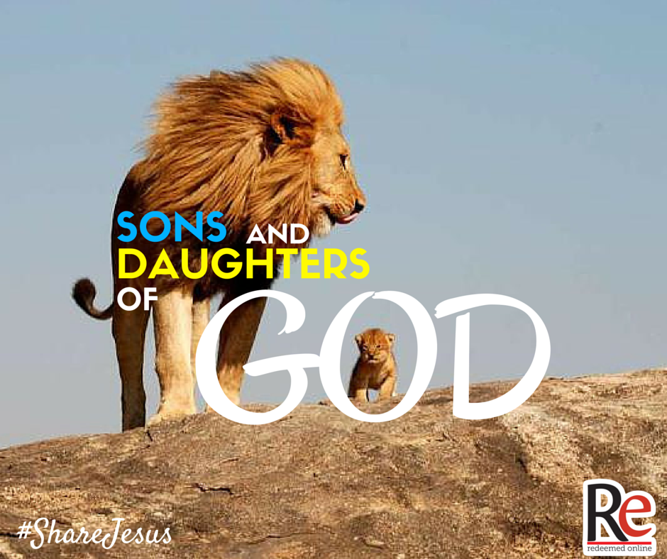 Sons and Daughters of God #ShareJesus Andrew Laubacher