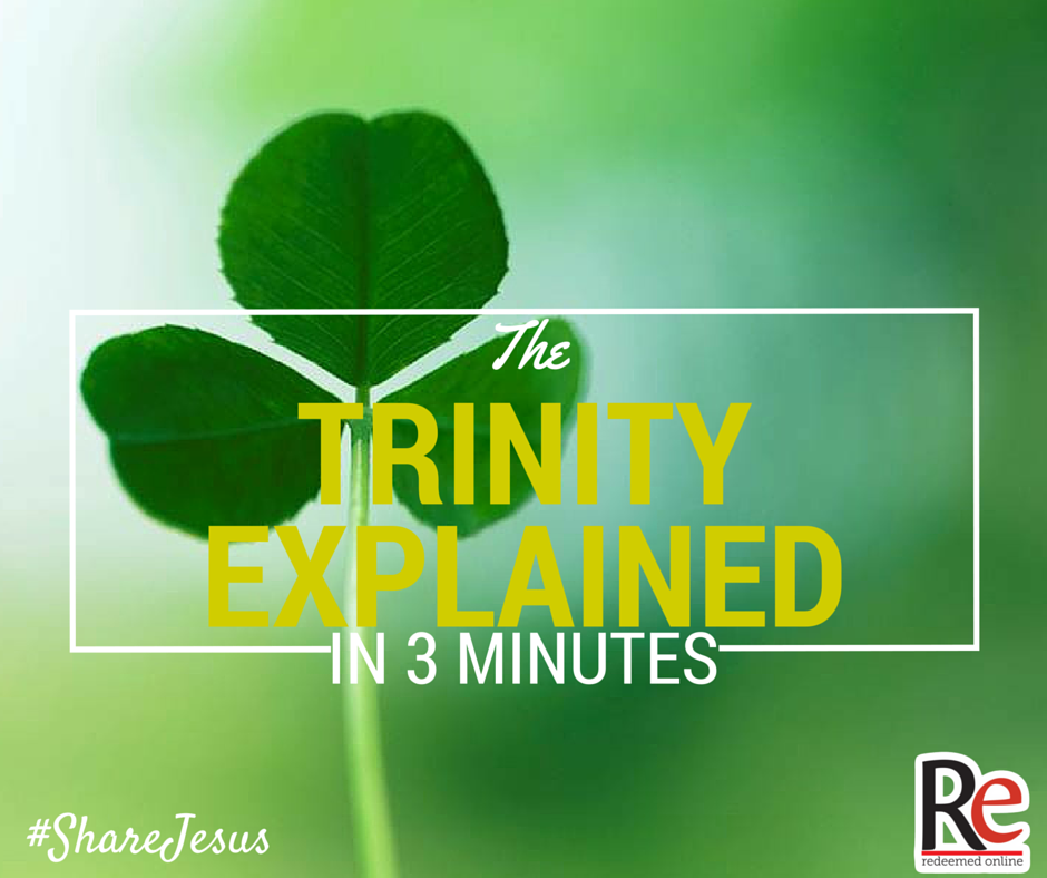 The Trinity Explained #ShareJesus Bob Rice