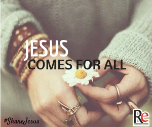 jesus came for everyone #ShareJesus Mary Bielski