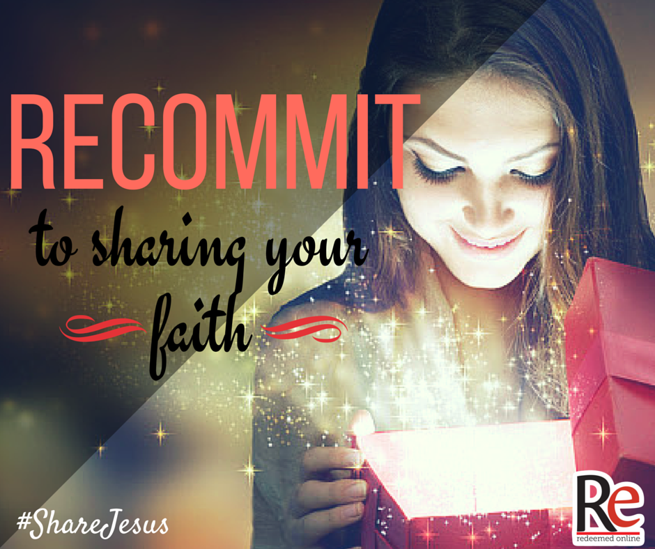 Andy Lesnefsky #ShareJesus Recommit to sharing your faith