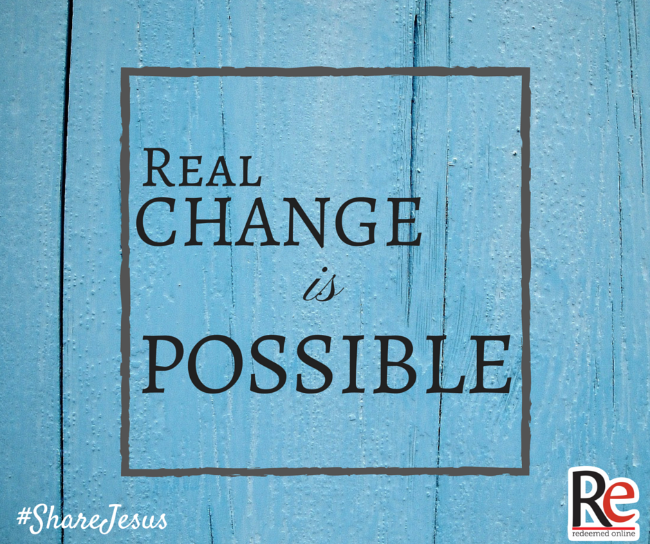 Bob Rice #ShareJesus Real Change is Possible