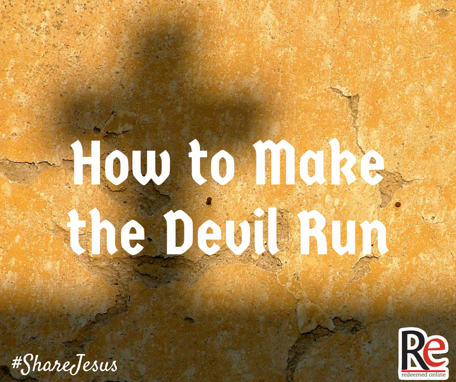 Dave VanVickle #ShareJesus How to make the devil run