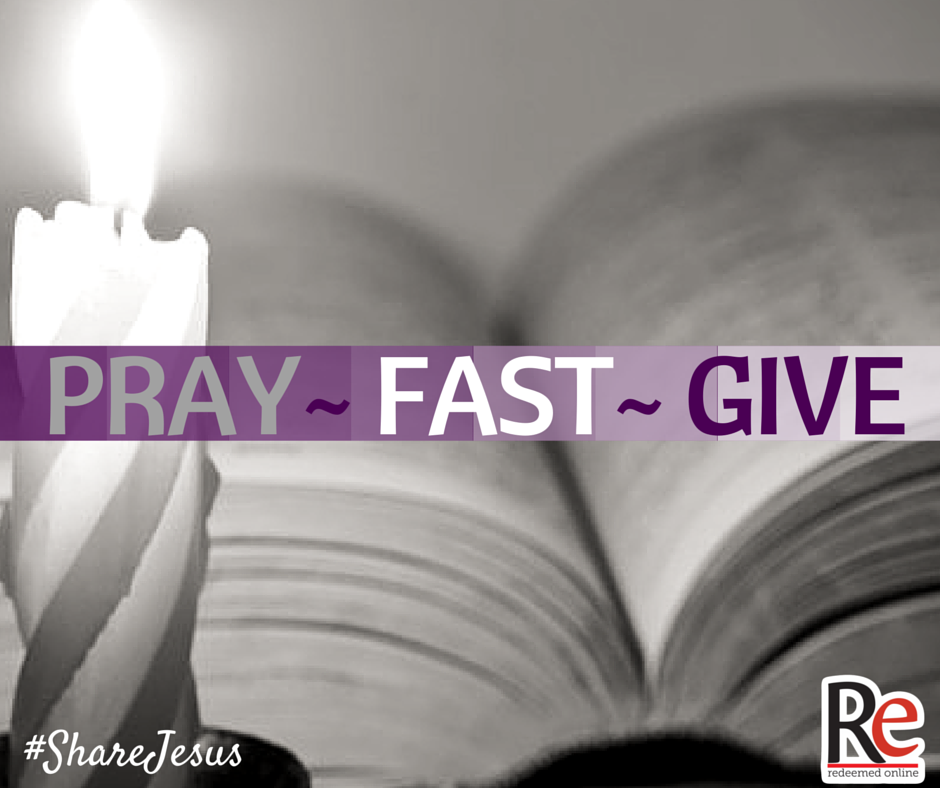 Fr. Dave Pivonka #ShareJesus Pray, Fast, Give