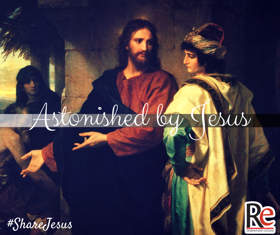 Michael Marchand #ShareJesus Astonished by Jesus