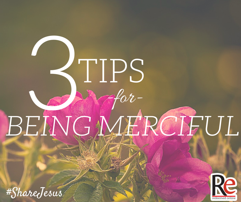 Christina Mead #shareJesus 3 tips for being merciful