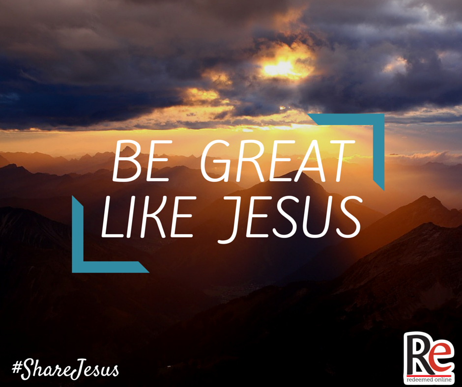Joe Killian #shareJesus be great like jesus
