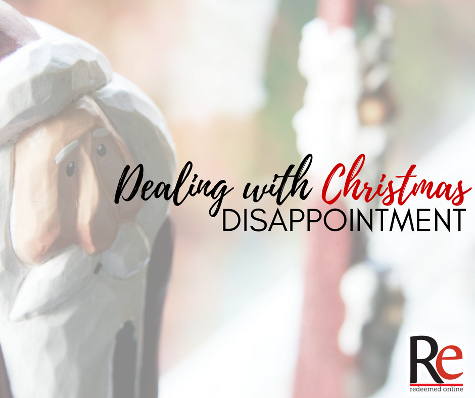 Christmas disappointment - Andy Lesnefsky - Redeemed Online