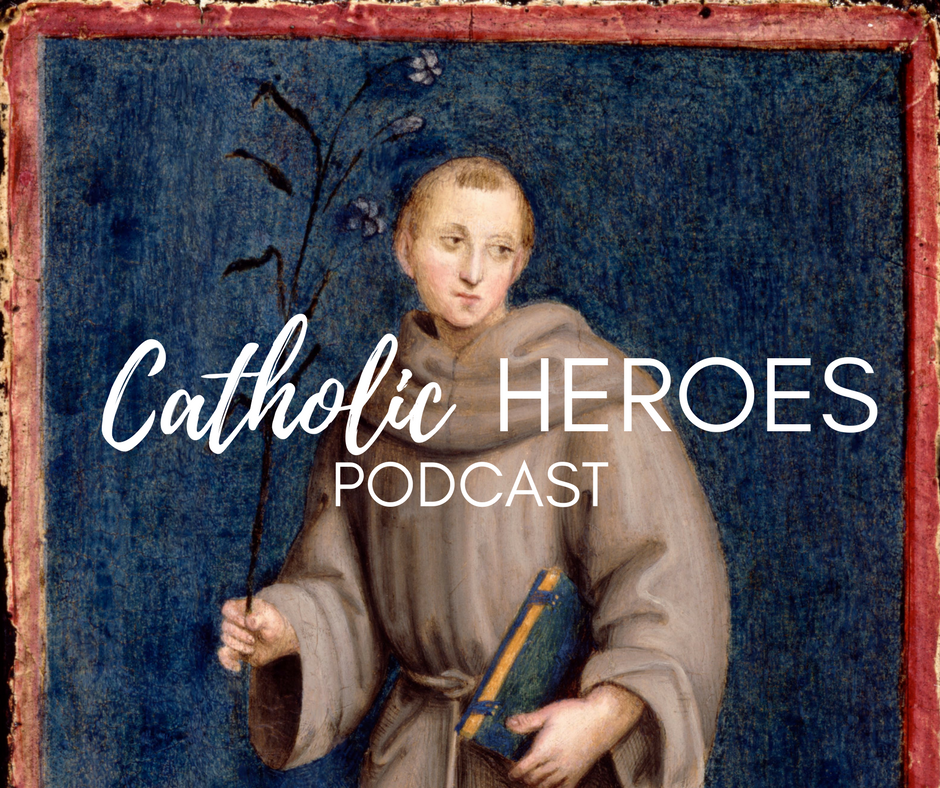 St. Anthony Catholic Heroes Podcast Andy Lesnefsky