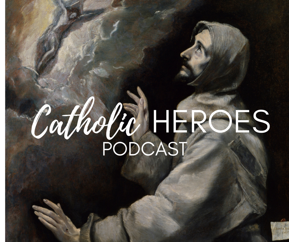 St. Francis of Assissi Catholic Heroes Podcast Andy Lesnefsky