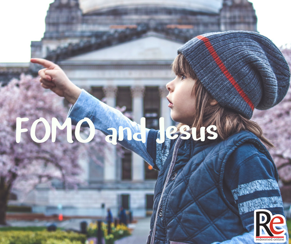 Fomo and Jesus #ShareJesus