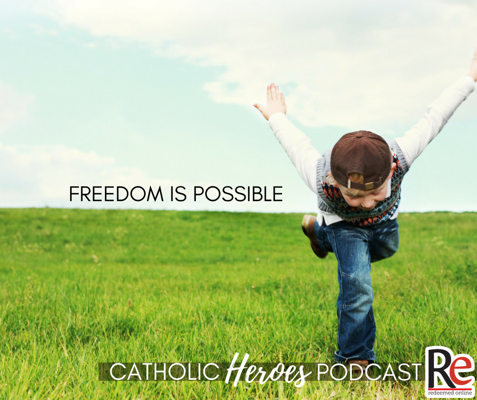 Freedom and St. Clare of Assisi Catholic Heroes Podcast - Andy Lesnefsky